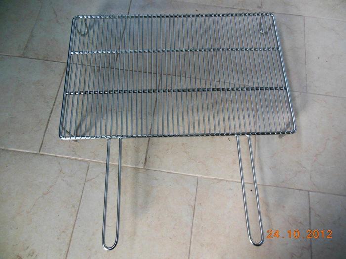 Griglia barbecue per camino acciaio su misura pagina 1 for Griglia per barbecue bricoman