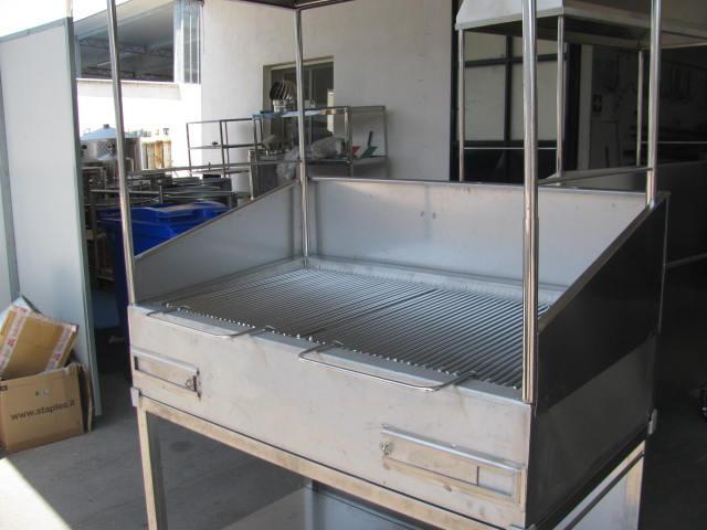 Barbecue con cappa - Barbecue Acciaio su misura - TR Inox